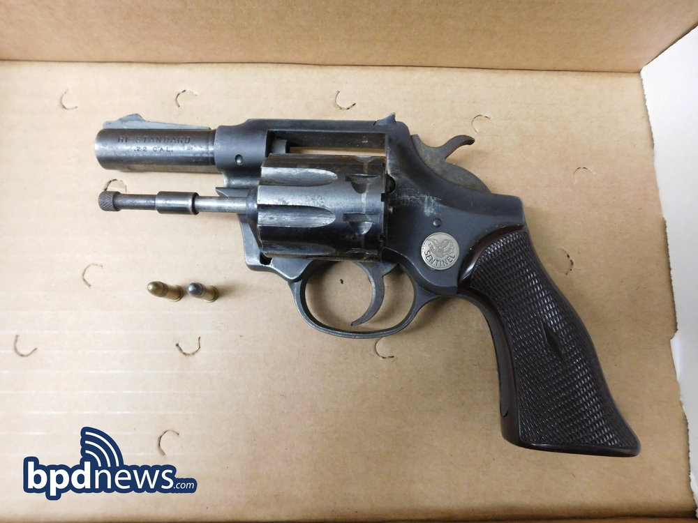 Firearm Recovered in Incident #3