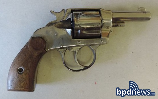 gun seized in incident #1