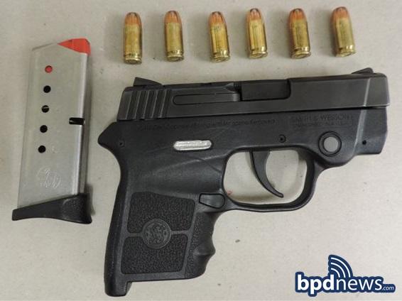 gun seized in incident #2