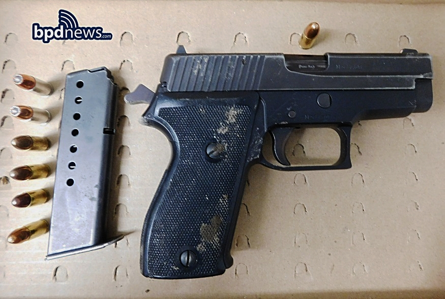 GUN RECOVERED DURING INCIDENT #1