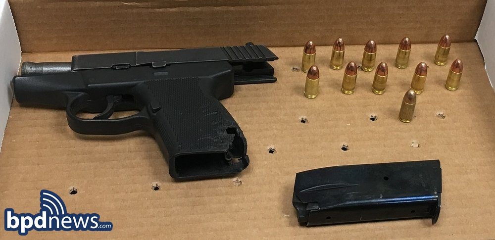 Firearm Seized During Incident #2