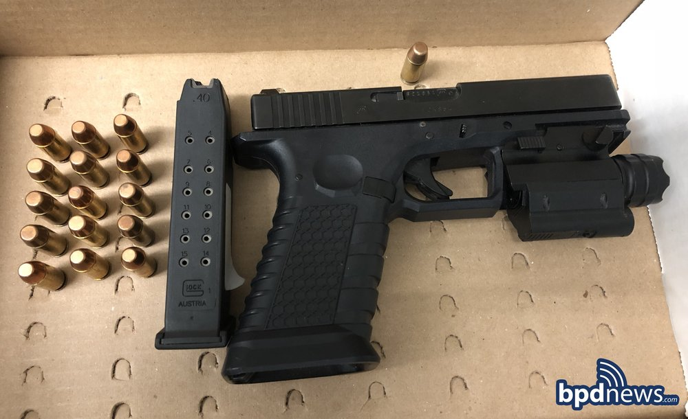 Firearm recovered in Incident #2