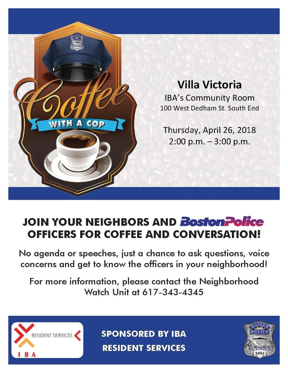 Coffee with a Cop with Villa Victoria.jpg