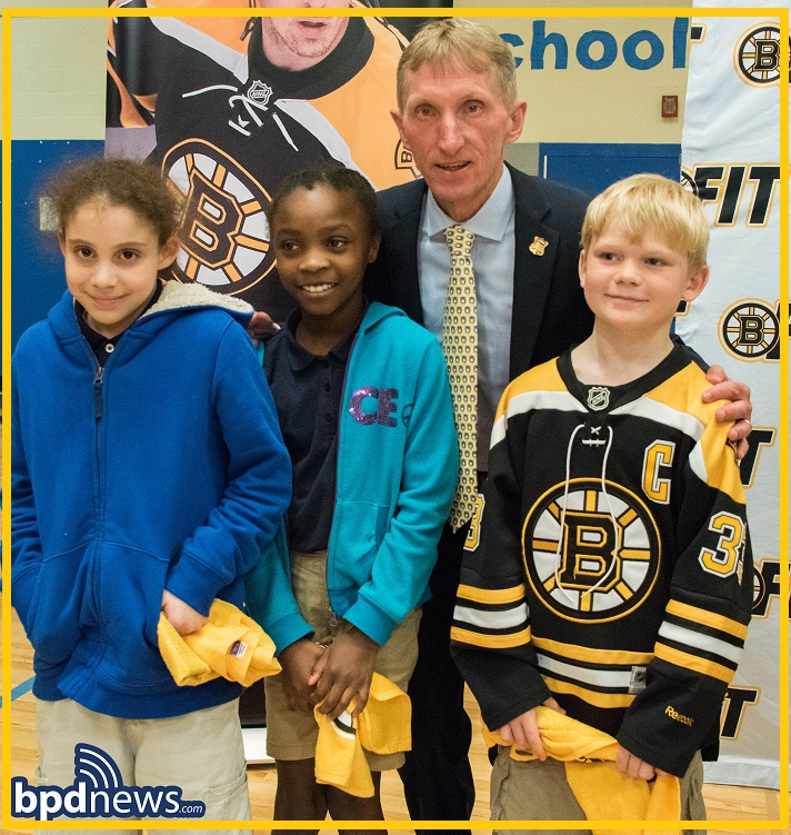 BPD In The Community: Boston Bruins Donate Close to $80,000 of Street  Hockey Equipment to Boston Public Schools: Today, Wednesday, May 23, 2018,  ...