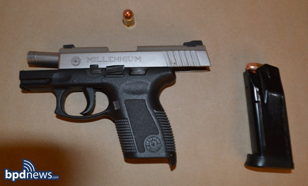 Firearm recovered in incident #1