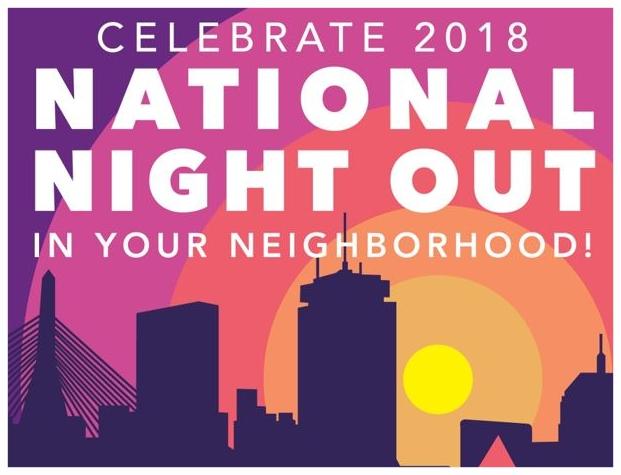 2-Day National Night Out Celebration Kicks Off Monday, August 6, 2018!!!