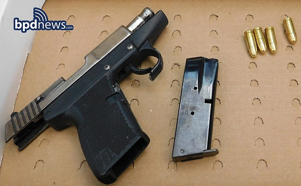 One Less Gun: BPD Officers Bravely Confiscate Two Firearms While Arresting Two Suspects in Two Separate Incidents