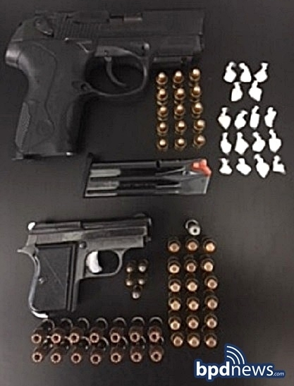 Search Warrant Enables BPD Officers to Confiscate Illegal Drugs, Guns and Ammunition in Dorchester