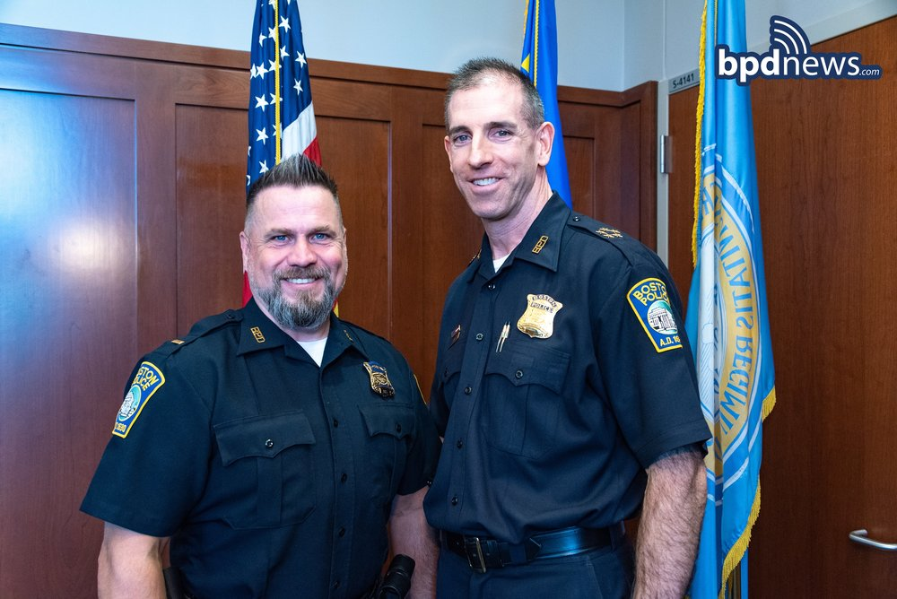 Recent Promotions: Two Sergeants Promoted to the Rank of Lieutenant