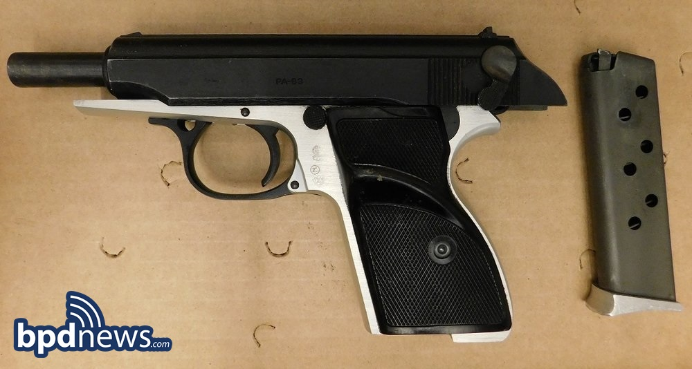 Suspect in Custody and Firearm Recovered After Foot Pursuit in Dorchester