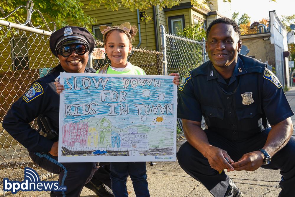 BPD in the Community: Walk to School Day!