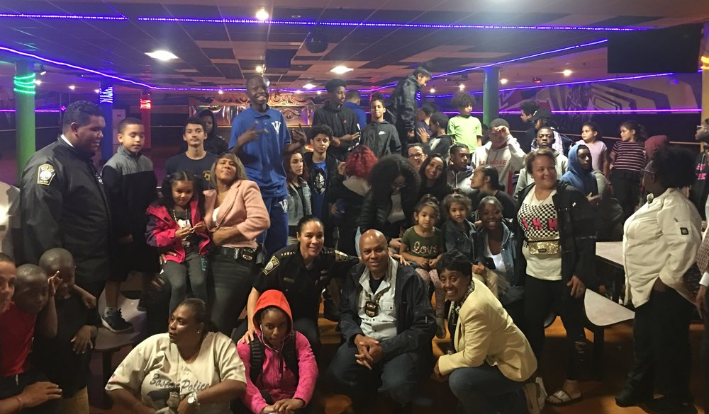 BPD in the Community: Officers Attend Youth Dialogue Event