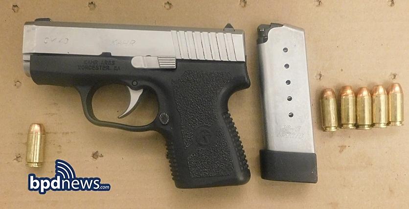One Less Gun: BPD Officers Bravely Disarm Armed Suspect Caught Trespassing in Roxbury