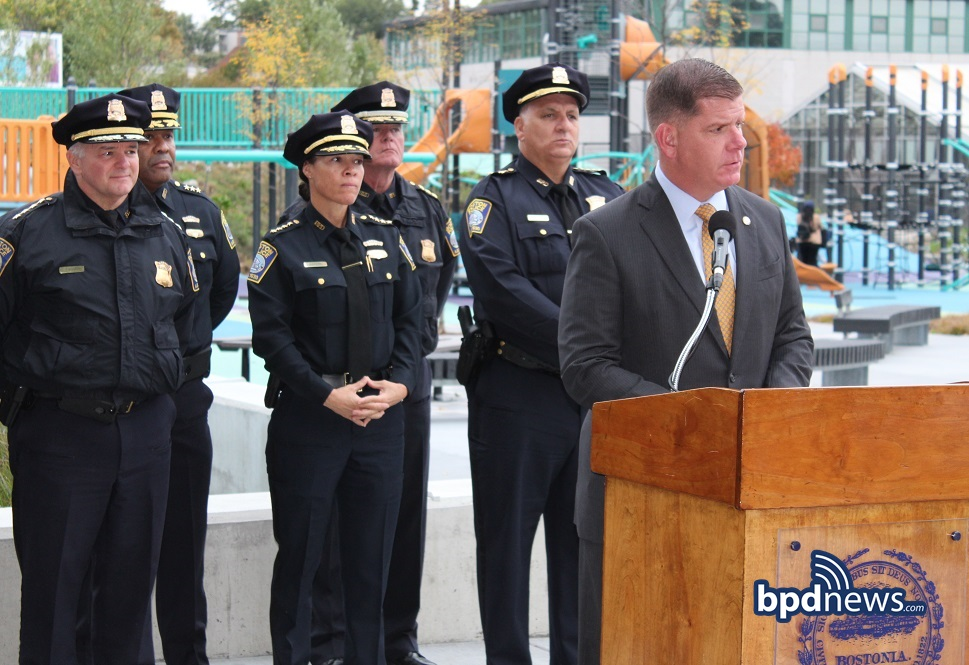 Harambee Park Playground in Dorchester Named in Honor and Memory of BPD Sergeant Dennis 'DJ' Simmonds