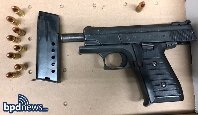 One Less Gun: BPD Officers Arrest 16-Year-Old Girl Carrying