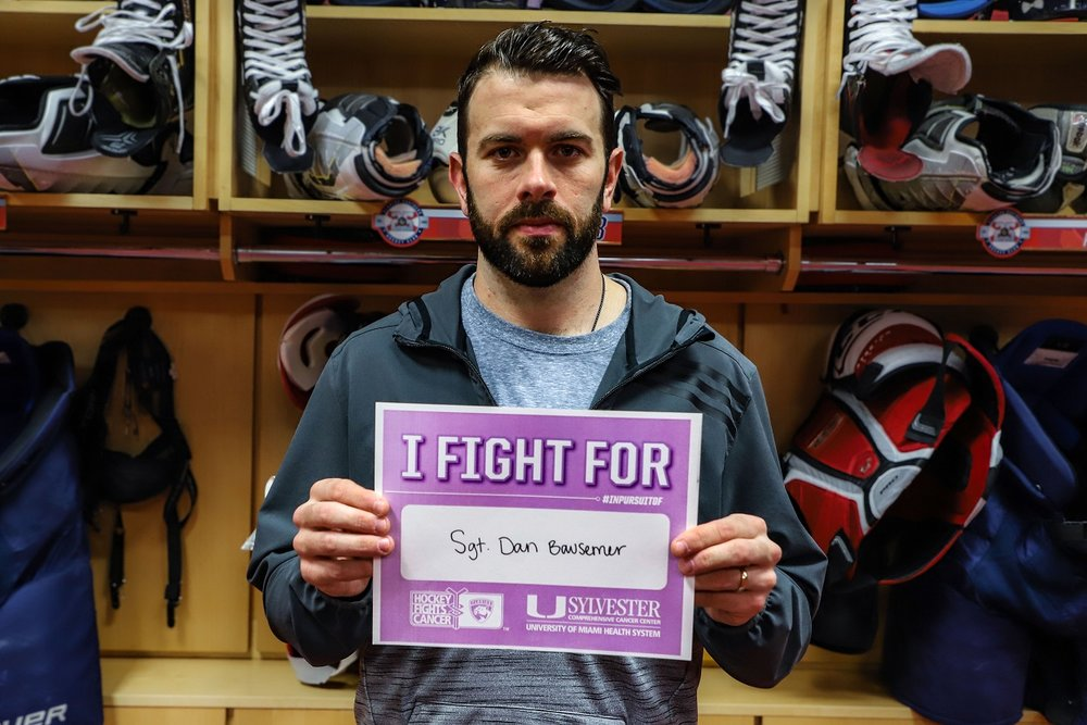 NHL Defenseman Honors the Memory of BPD Sergeant Who Recently Lost His Battle with Cancer