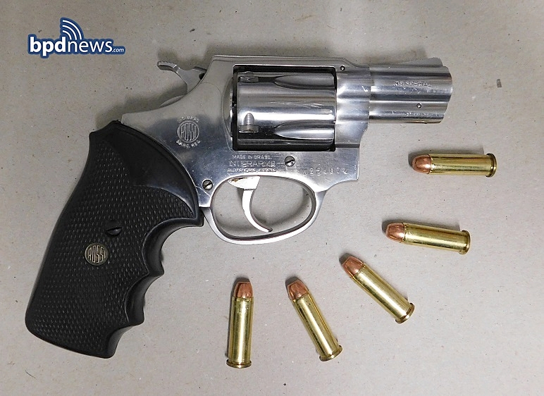 Keeping Boston Safe: Members of the Youth Violence Strike Force Recover Firearm Following Motor Vehicle Stop in Roxbury