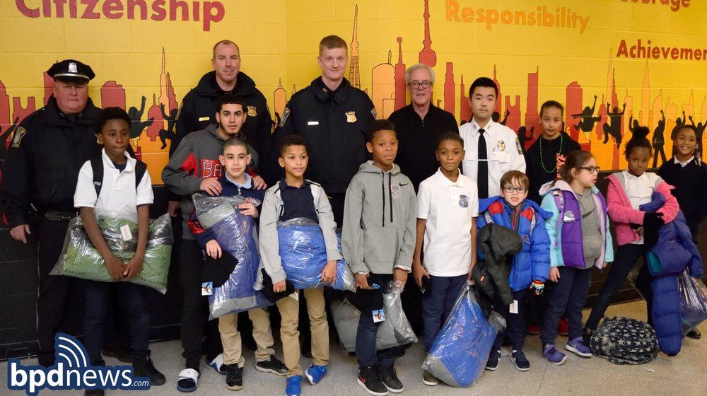 District C-6 Donates Hundreds of Winter Coats, Hats and Gloves During the Holiday Season