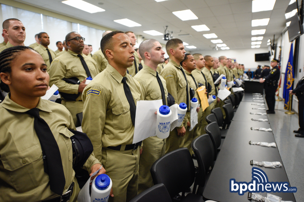 Boston Police Academy Recruit Class 58-18 Reports for First Week of Training