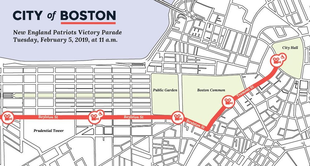 BPD Traffic Advisory: New England Patriots Super Bowl LIII Victory on a schematic drawing, as is to be diagram, ic schematic diagram, ups battery diagram, simple schematic diagram, a schematic circuit, layout diagram, circuit diagram, template diagram,
