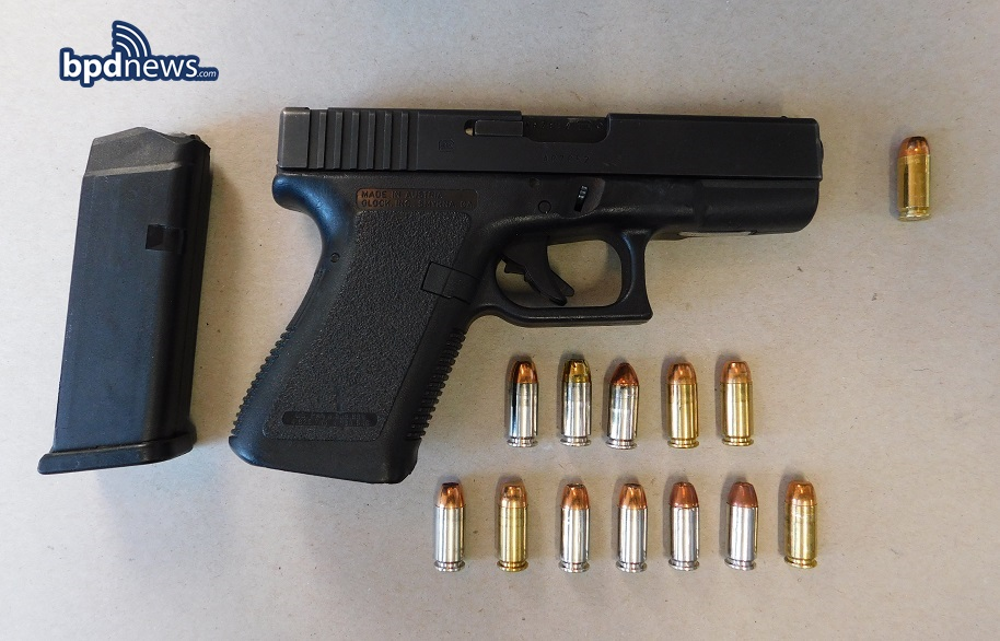 ONE LESS GUN: BPD Officers Recover Two Firearms While