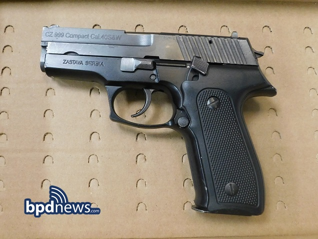 Safer Boston: BPD Officers Recover Unattended Firearm Found in