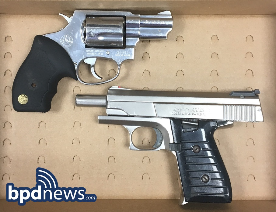 Three Suspects in Custody and Two Loaded Firearms Recovered After