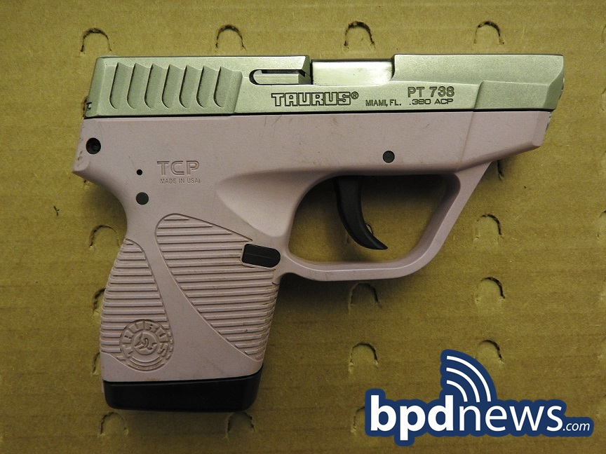 Suspect in Custody After BPD Officers Recover Loaded Firearm