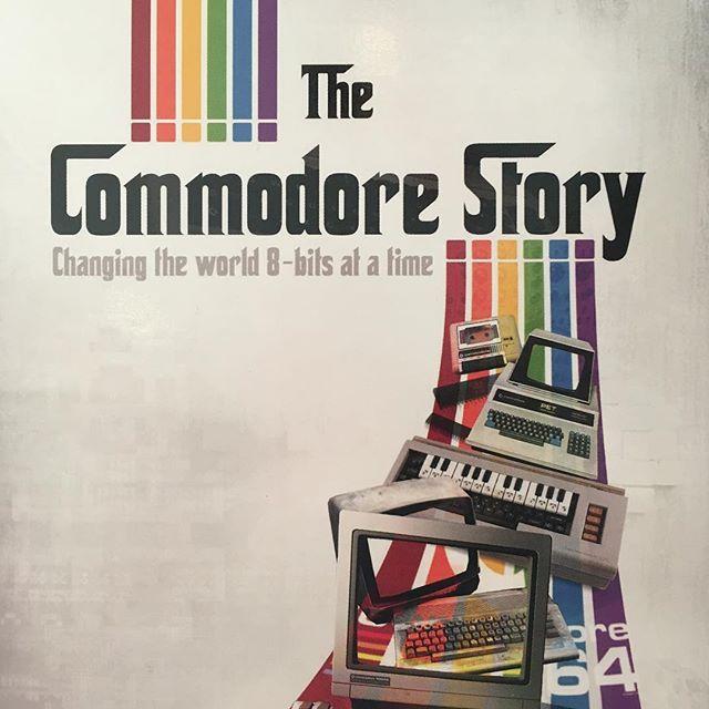 About to enjoy a fantastic journey through computer history. Thanks @retrohouruk #thecommodorestory #computerhistory #computerhistorymuseum #retrocomputing #8bit #16bits