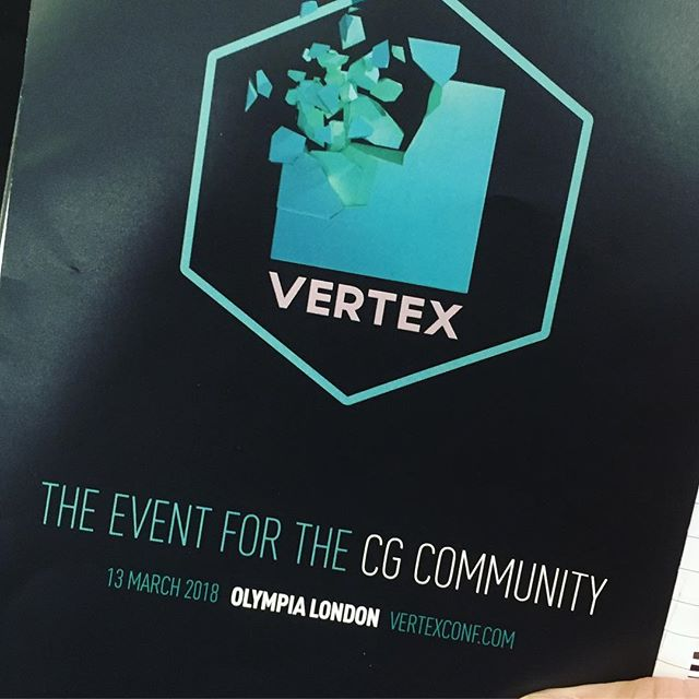 Attending Vertex and keen to see all that is being done in automation of animation and design. #vertexconf #animation #design #3d #3dworld #3dartist