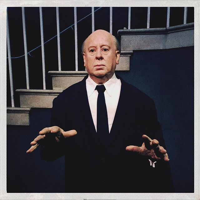 The legend and mystery of #hitchcock lives on @madametussauds #alfredhitchcock #iphoneography #iphoneographer #hipstamatic #suspense #london #digitalphotography