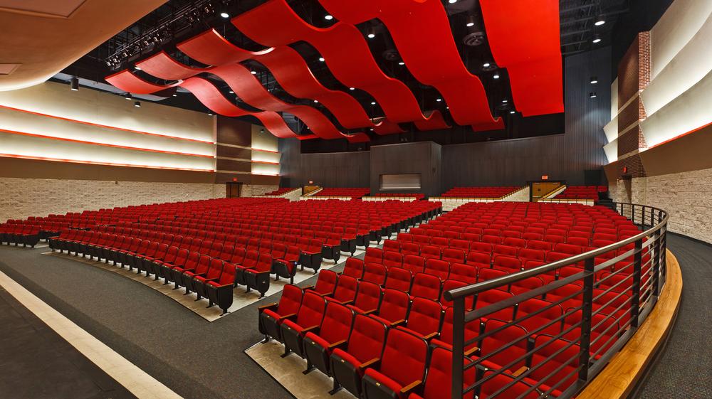 Clyde High School Auditorium Wra Architects