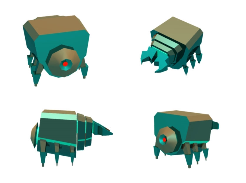 3D enemy rough