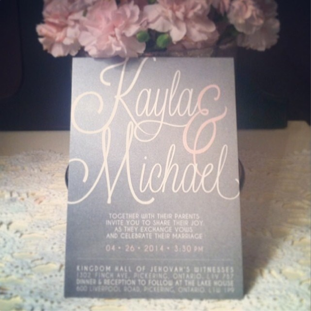 Kayla & Michael • April 2014
