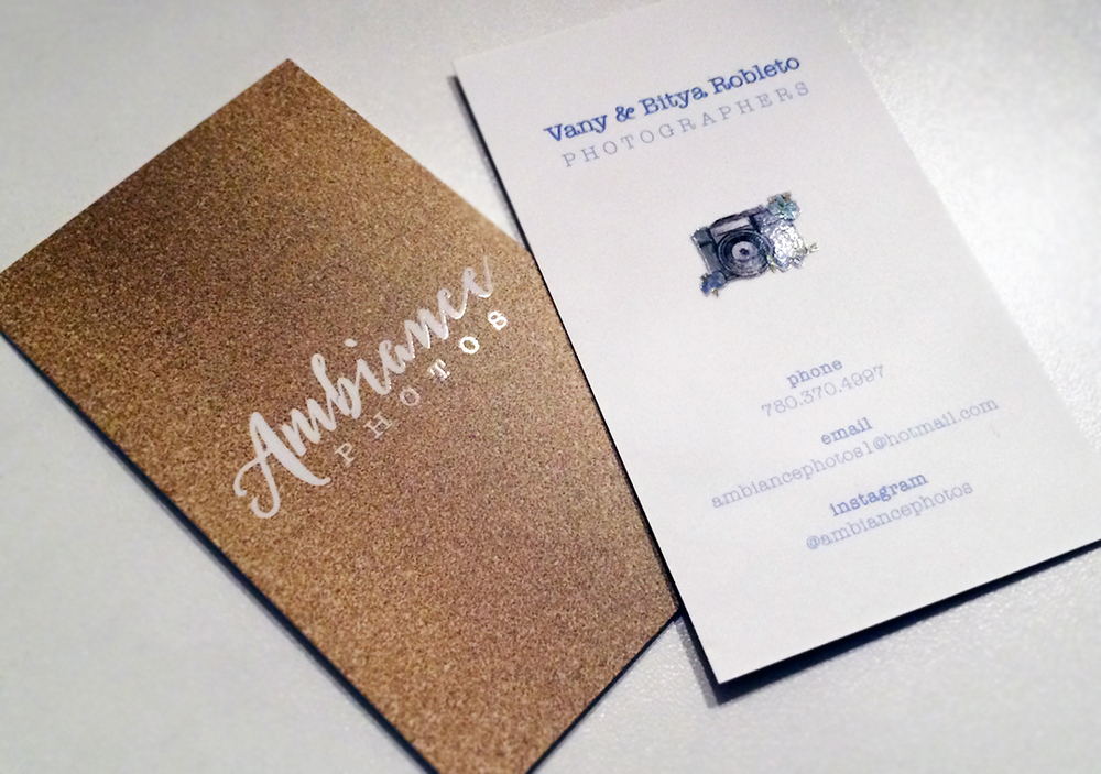 Ambiance Photos • Business Cards