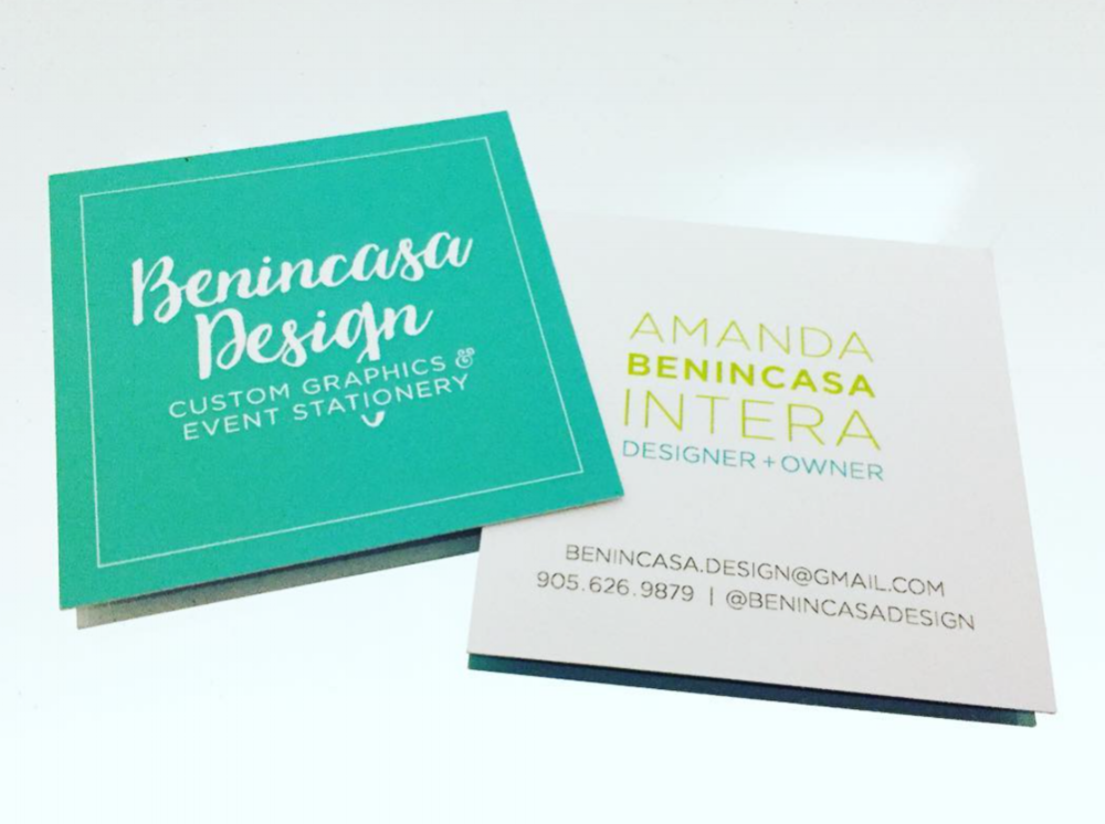 Benincasa Design • Business Cards