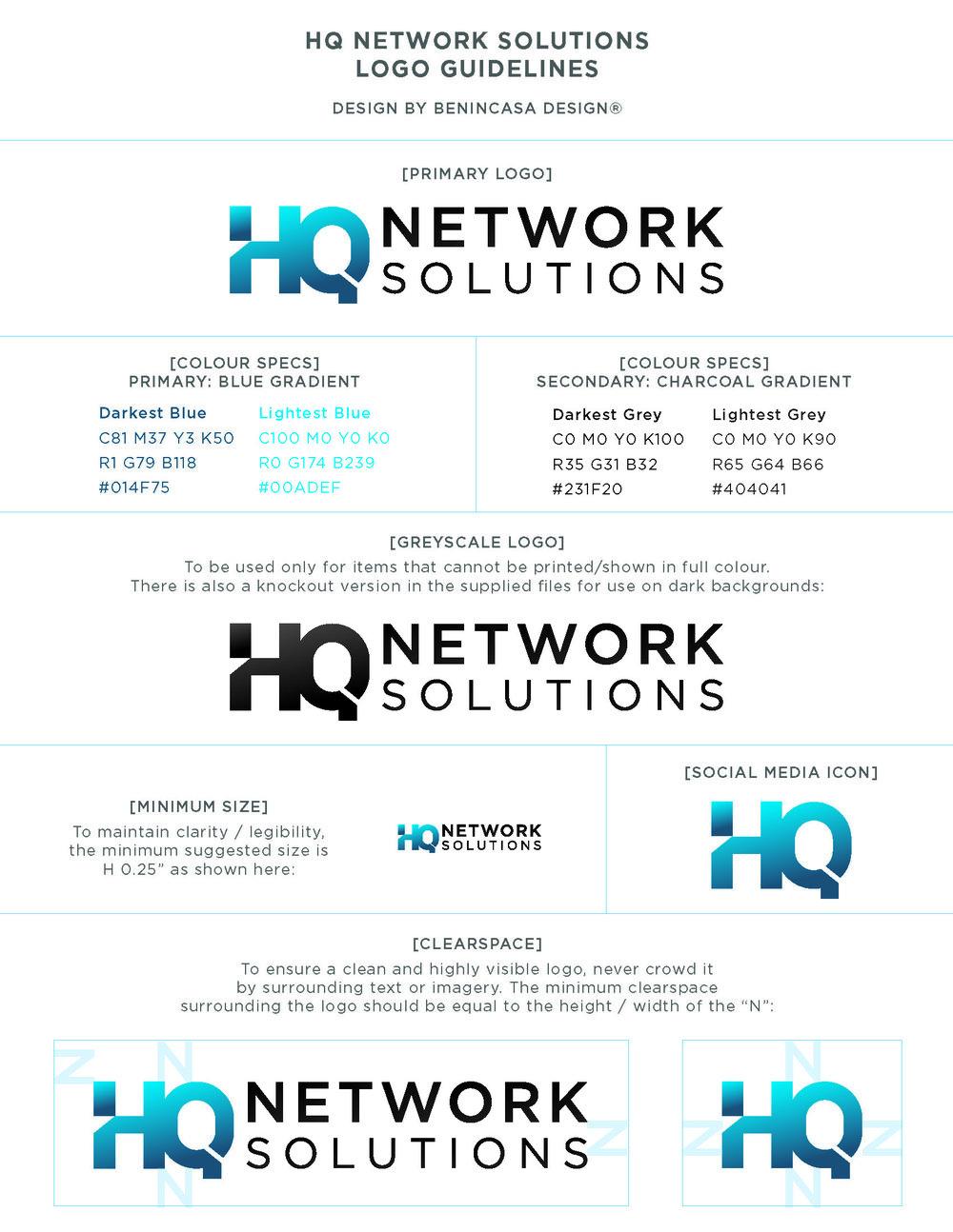 HQNS Logo Design/Branding Guidelines