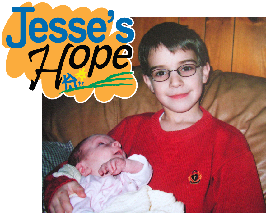 Jesse and his baby sister Maria 2005