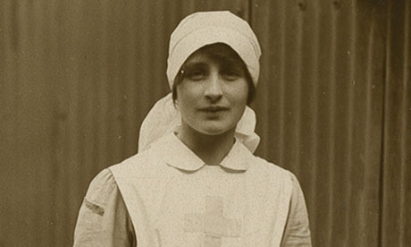 Brittain as a V.A.D. nurse, 1915