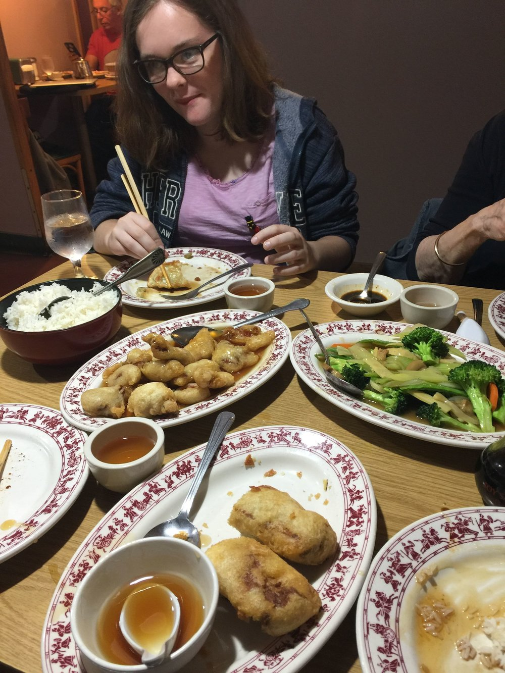 A feast at the Tai Tung
