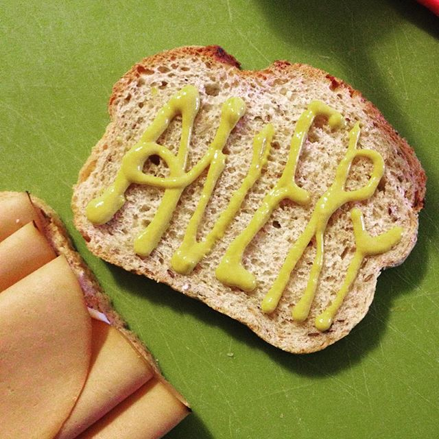 Sandwich time.