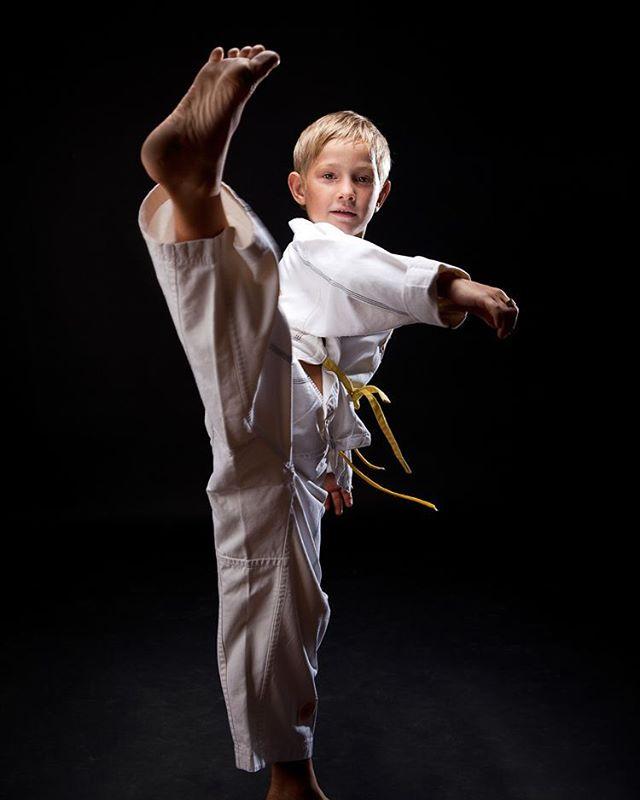 Taekwondo Boy At the studio #seanrockphotography  #studiophotography