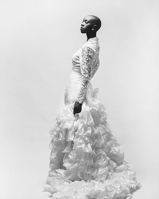 Wedding Dress At the studio #seanrockphotography  #studiophotography