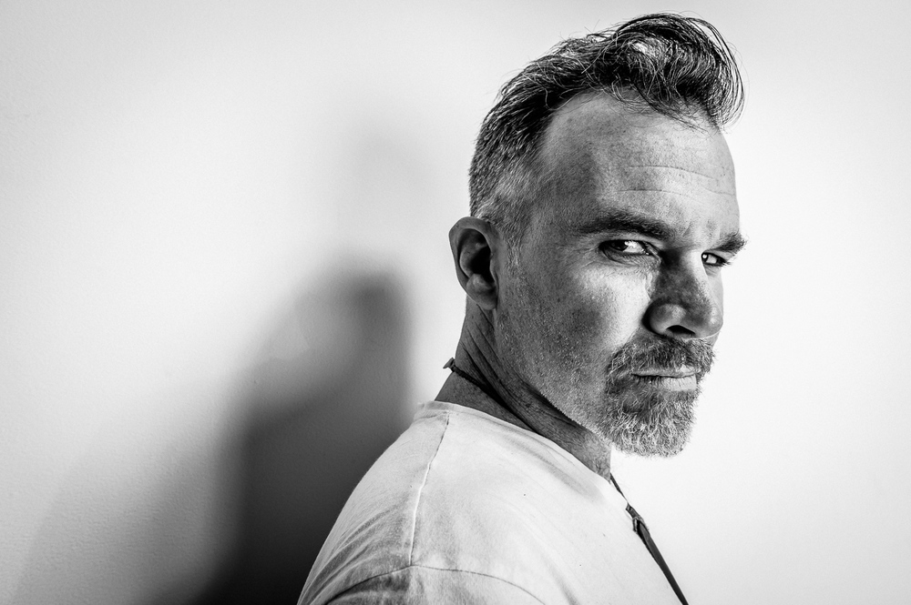 Mark Williams Portrait Shoot at White Studios in Auckland, New Zealand on July 3, 2014.