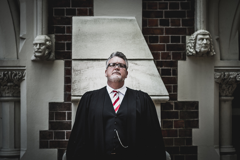 William McNicol at the Old Auckland High Court