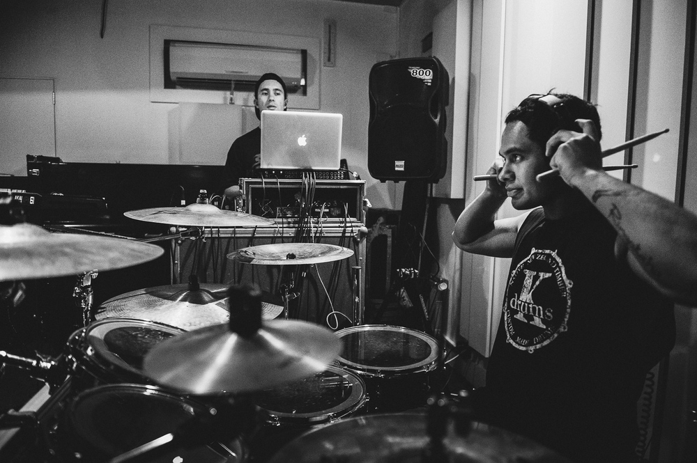 Six60 Rehearsal Shoot at Six60 Studios in Auckland, New Zealand on May 13, 2015.