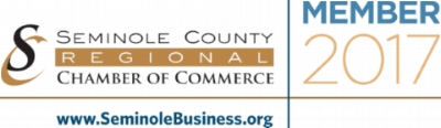 Proud member of the seminole county regional chamber of commerce.