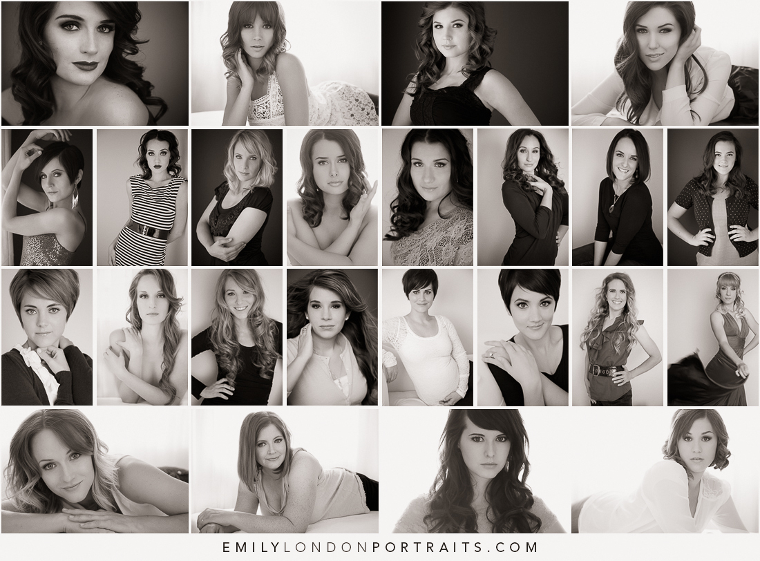 My Photography Beginning A Glamour Boot Camp Emily London Portraits