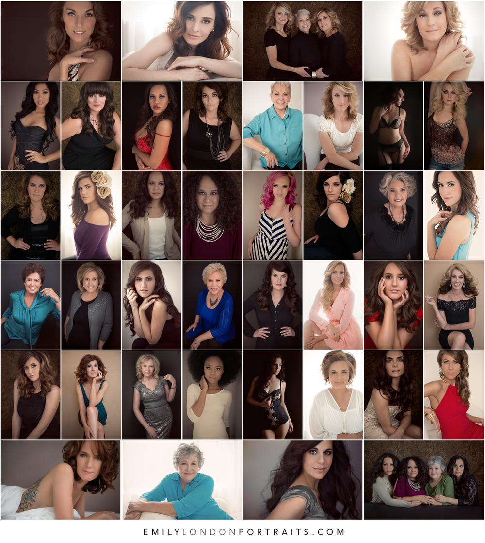 Building a glamour portfolio using vouchers, Emily London Portraits in Utah tells how she did it and what she learned.