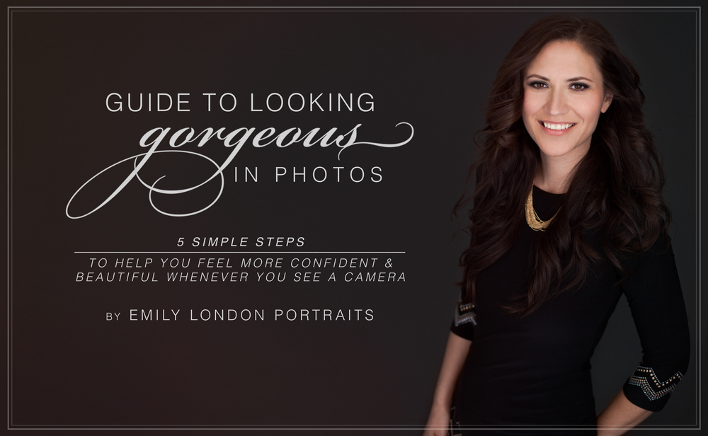 The Guide to Looking Gorgeous in Photos has been designed to help you feel more confident and beautiful whenever you see a camera.